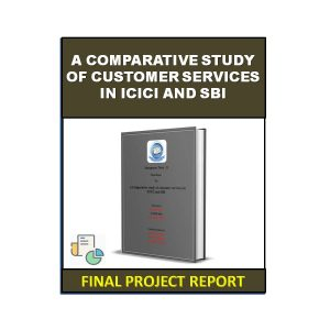 A Comparative Study Of Customer Services In ICICI And SBI 5