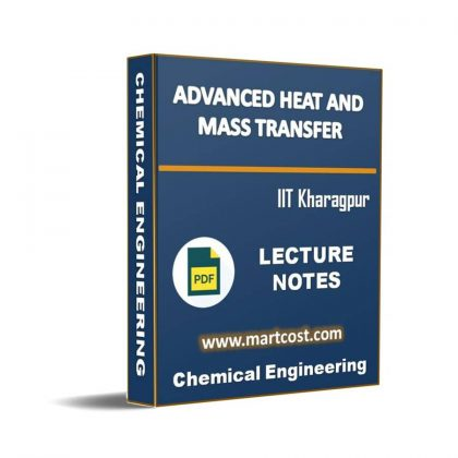 Advanced Heat and Mass Transfer Lecture Note