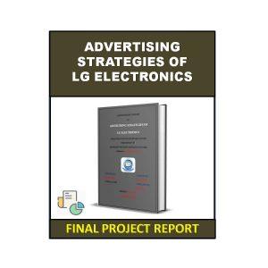 Advertising Strategies of LG Electronics 3