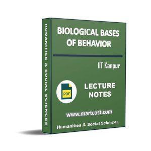 Biological Bases of Behavior