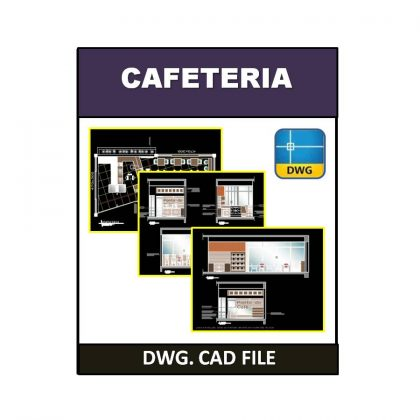 Cafeteria dwg CAD File