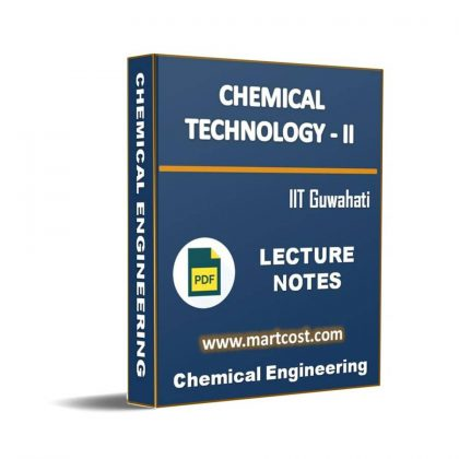 Chemical Technology – II Lecture Note
