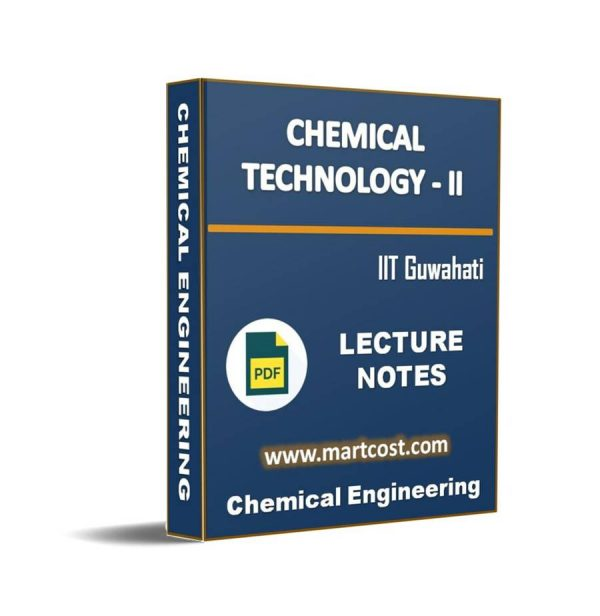 Chemical Technology - II 1