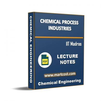 Chemical process industries Lecture Note