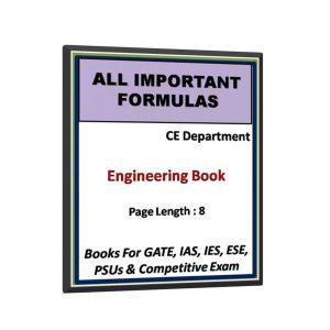 Civil Engineering All Formulas