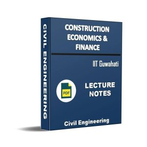 Construction Economics & Finance