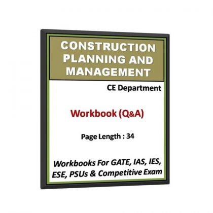 Construction Planning and Management Workbook