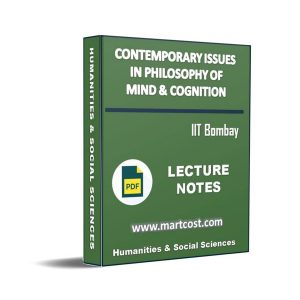 Contemporary Issues in Philosophy of Mind & Cognition