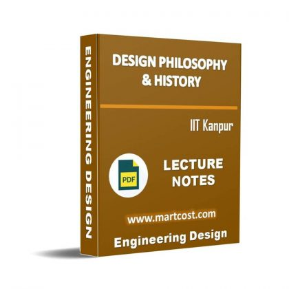 Design Philosophy & History Lecture Note