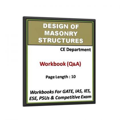 Design of Masonry Structures Workbook