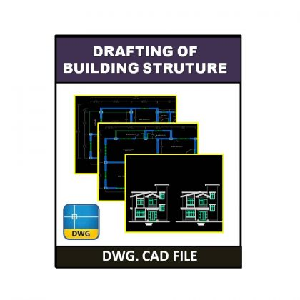 Drafting of Building Structure dwg CAD File