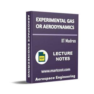 Experimental Gas or Aerodynamics 1