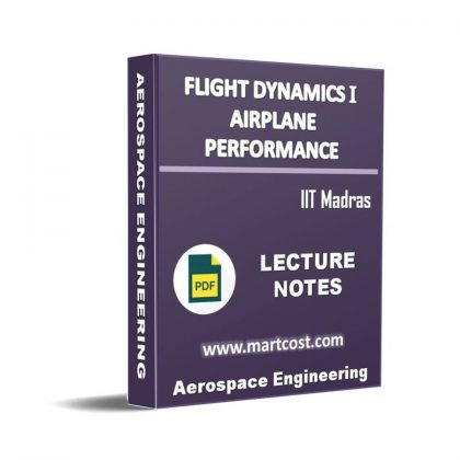Flight dynamics I – Airplane performance Lecture Note