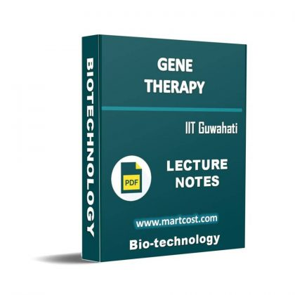 Gene Therapy Lecture Note