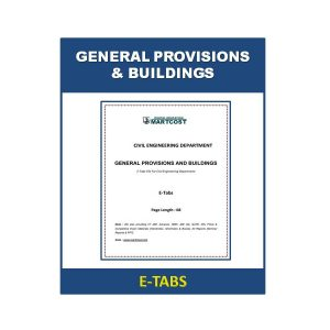 General Provisions and Buildings 1