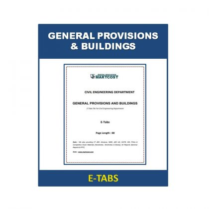General Provisions and Buildings