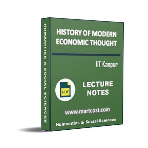 History of modern economic thought