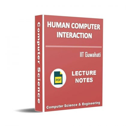 Human Computer Interaction Lecture Note