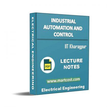 Industrial Automation and Control Lecture Note