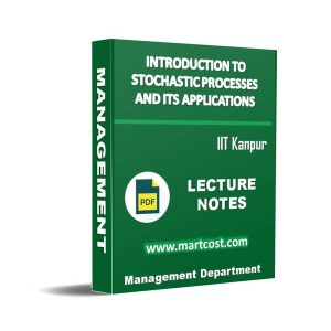 Introduction to Stochastic Processes and its Applications