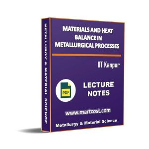 Materials and Heat Balance in Metallurgical Processes