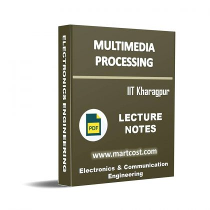 Multimedia processing Lecture Note
