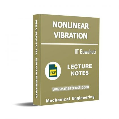 Nonlinear Vibration Lecture Note