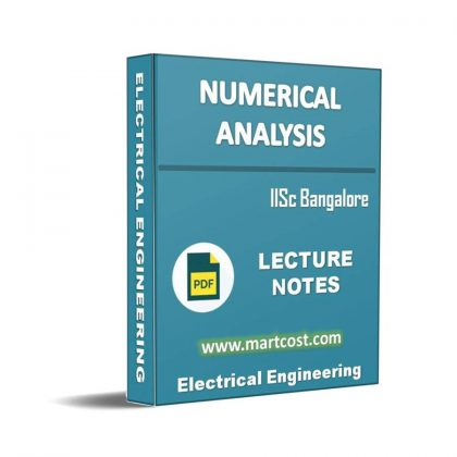 Numerical Analysis Lecture Note