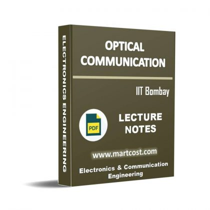 Optical Communication Lecture Note