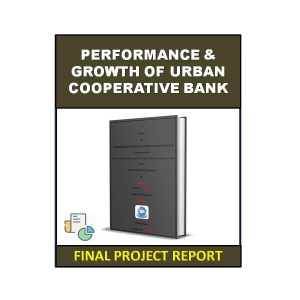 Performance & Growth of Urban Co-operative Bank