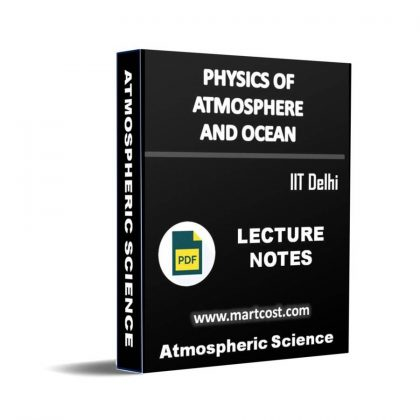 Physics of Atmosphere and Ocean Lecture Note