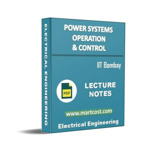 Power Systems Operation and Control 1