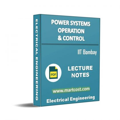 Power Systems Operation and Control Lecture Note