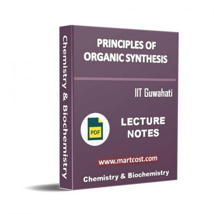Principles of Organic Synthesis Lecture Note