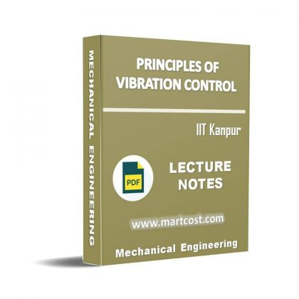 Principles of Vibration Control Lecture Note