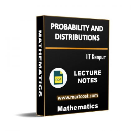 Probability and Distributions Lecture Note