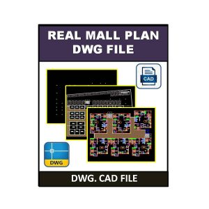 Real Mall Plan dwg File 1