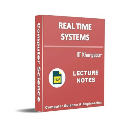 Real Time Systems Lecture Note