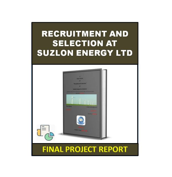 Recruitment And Selection At Suzlon Energy Ltd