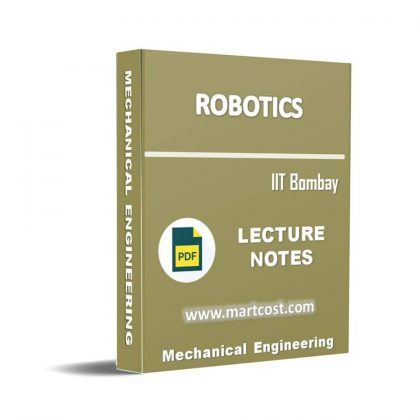 Robotics Lecture Note