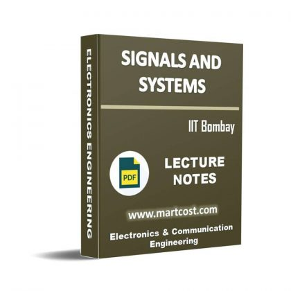 Signals and Systems Lecture Note