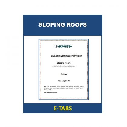 Sloping Roofs Hand Notes