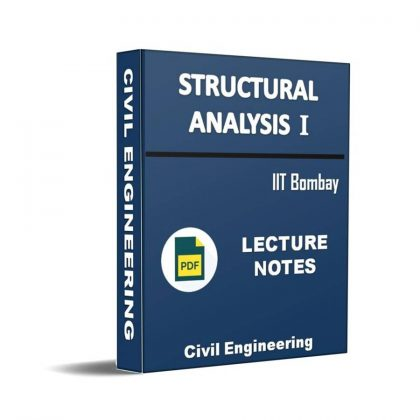 Structural Analysis I Lecture Note