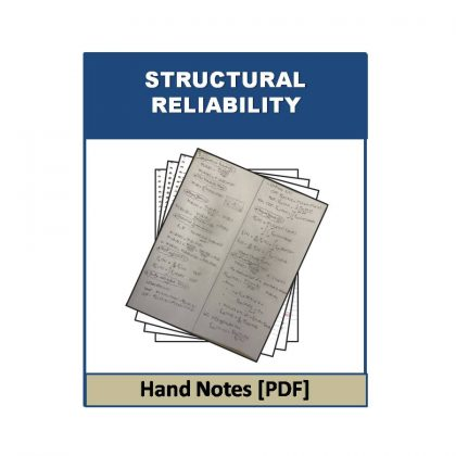 Structural Reliability Hand Note