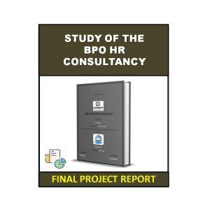 Study Of The BPO HR Consultancy