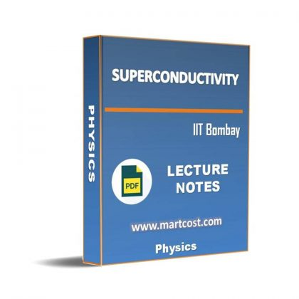 Superconductivity Lecture Note