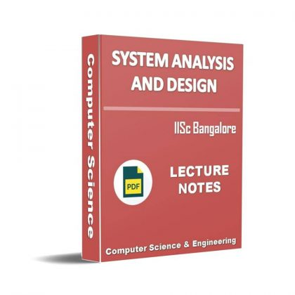 System Analysis and Design Lecture Note