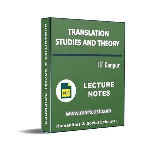 Translation Studies and Theory