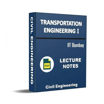 Transportation Engineering I Lecture Note