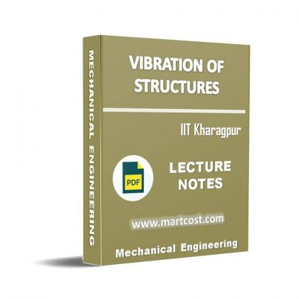 Vibration of Structures Lecture Note